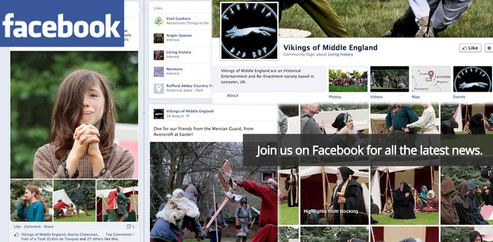 Join us on facebook for all the latest news!